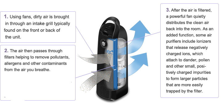 Just how does an air purifier work?