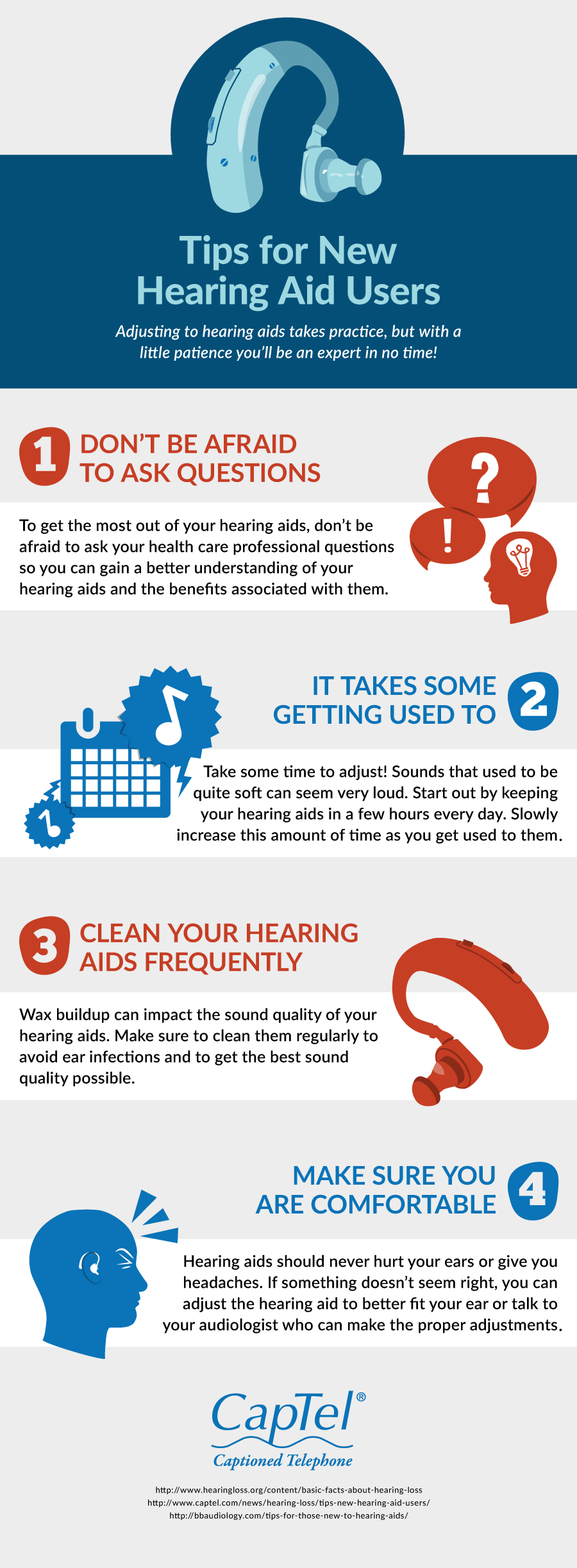 4 tips for new hearing aid users