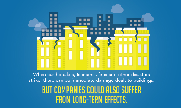 Natural disasters can have both instant and long term effects on manufacturing facilities, but a shorter supply chain helps mitigate these risks.